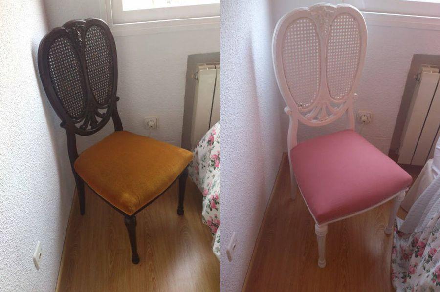 Tutorial paso a paso para retapizar una silla. ¡Es muy fácil ...