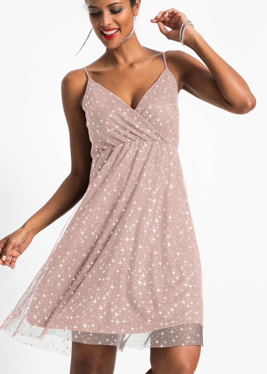 d25698a3850 How beautiful is this cami strap party dress that has a sparkly metallic  print on a sheer chiffon shell.