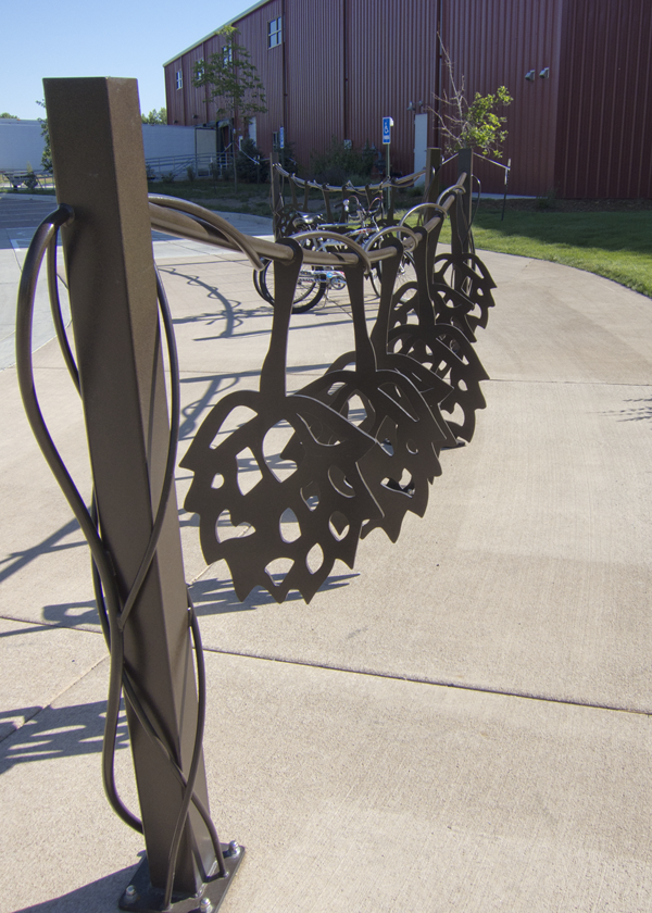 Brewery Bike Racks In Fort Collins Co Outdoor Bike Racks