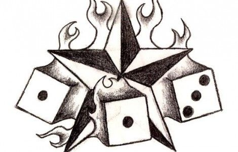 Cool Easy To Draw Tattoos Appetizers Pinterest Star Tattoos