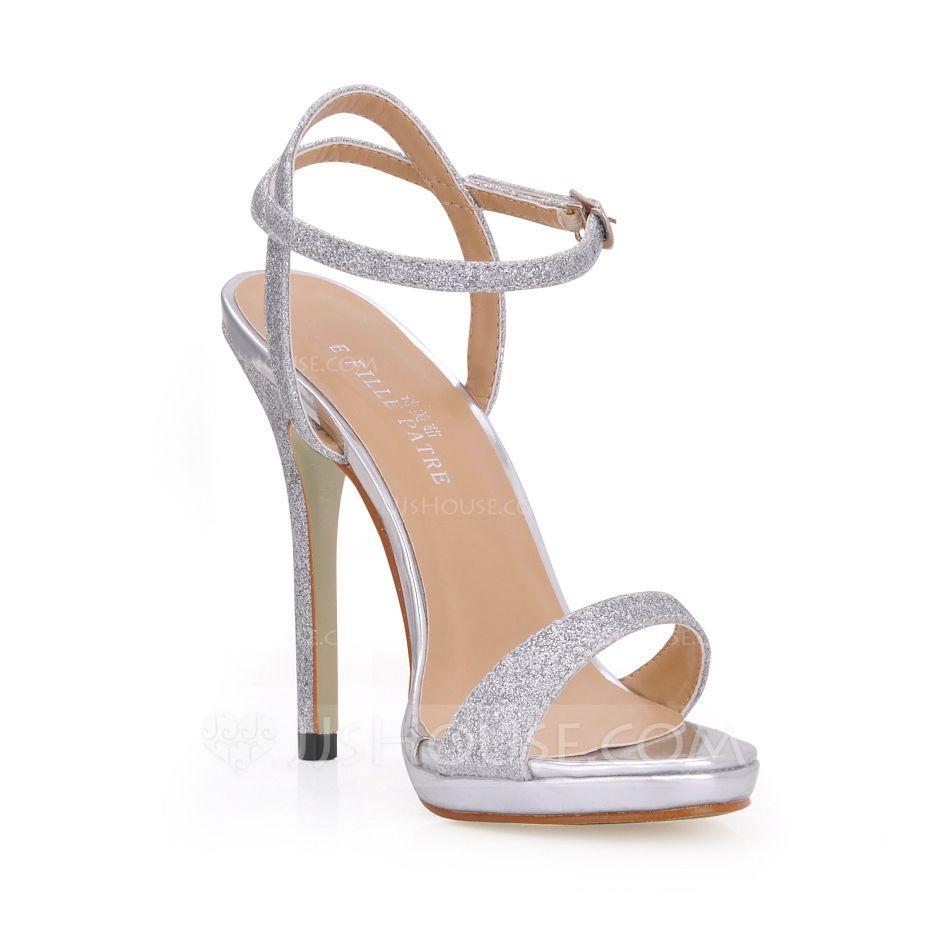 Donna Sandali Stiletto minimalista/Scarpe Da Sera Con Cinturino alla Caviglia