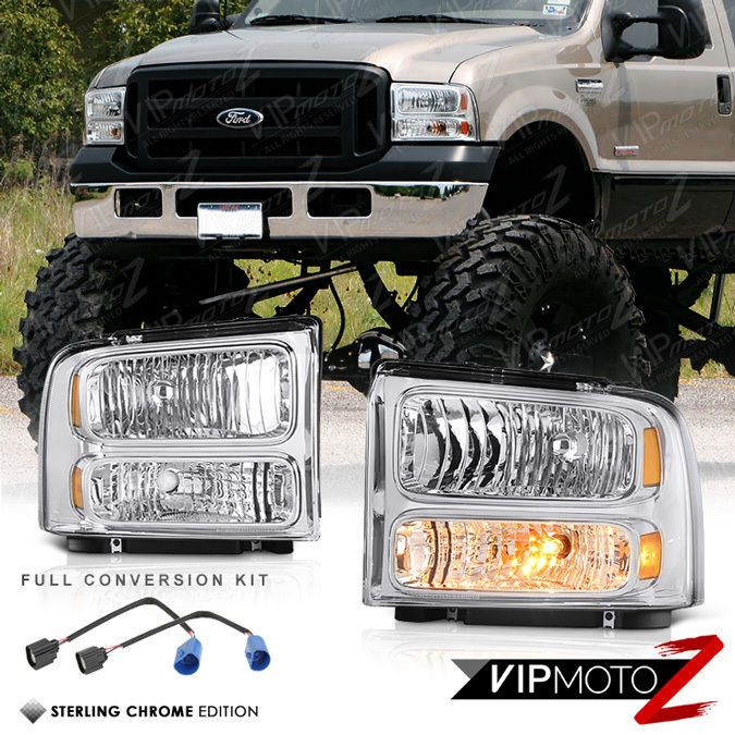 1999 2000 2001 2002 2003 2004 Ford F250 F350 Front Bumper Signal Headlights Lamp Ebay Ford F250 F250 Truck Accessories Ford