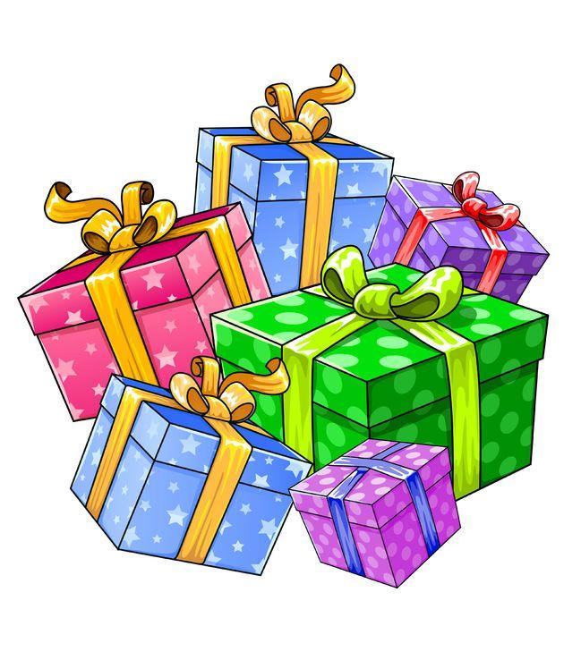 Clipart Weihnachtsgeschenke.Pin On Cadeau Femme