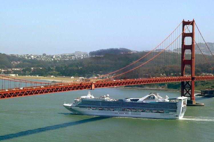 Grand Princess Cruising In San Francisco Cruise Ships - Cruise ships from san francisco