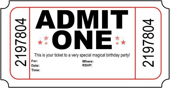Admit one party wedding n parties Pinterest Wedding