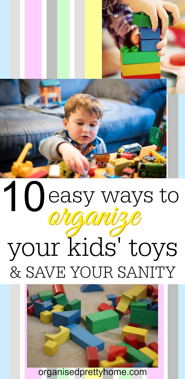 10 Types Of Toy Organizers For Kids Bedrooms And Playrooms: Organization & Storage