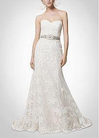 Elegant Exquisite Lace Sheath Sweetheart Neckline Wedding Dress