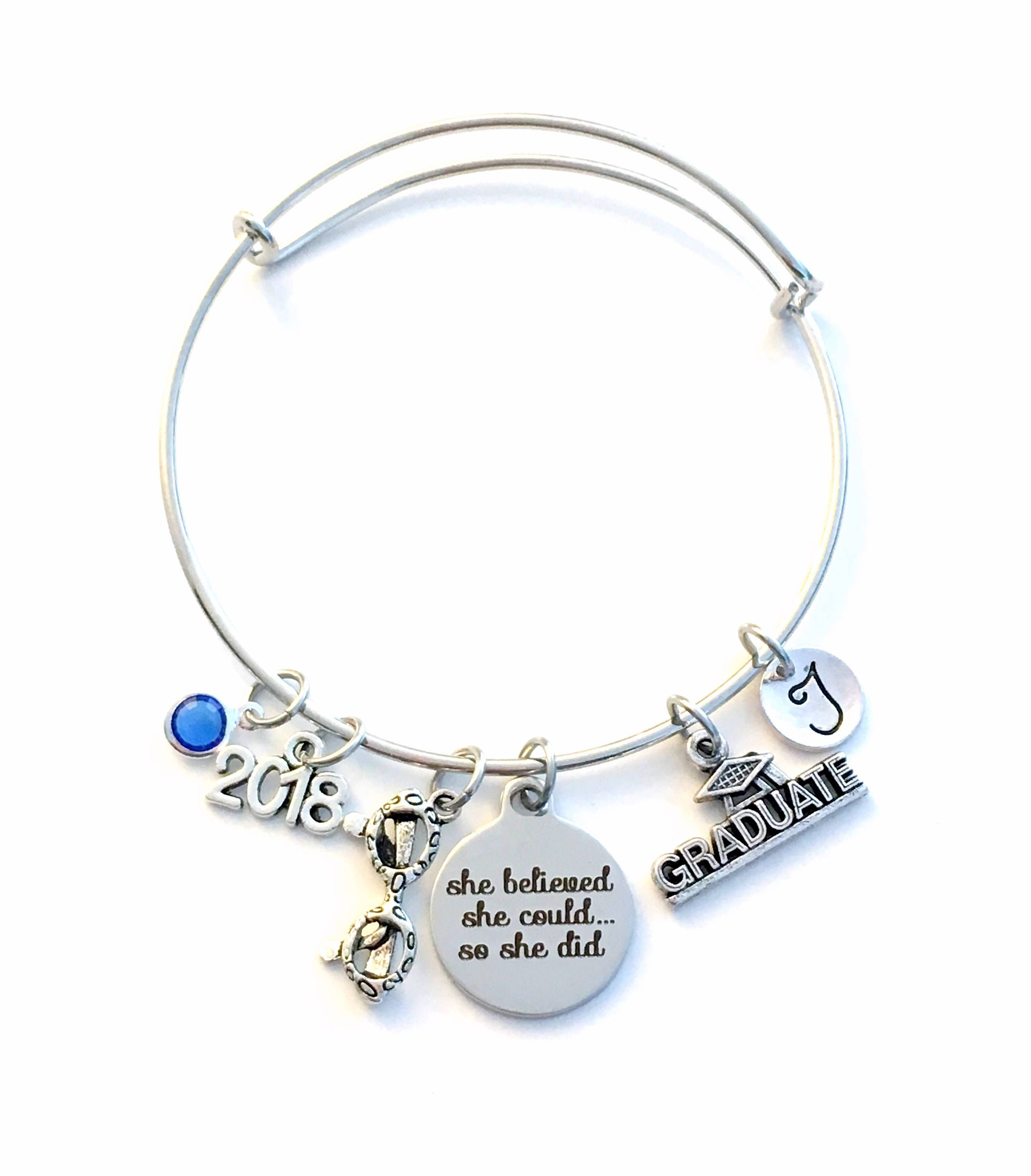 charm diploma expandable bracelet bangle graduation of adjustable jules collections bracelets img products silver class