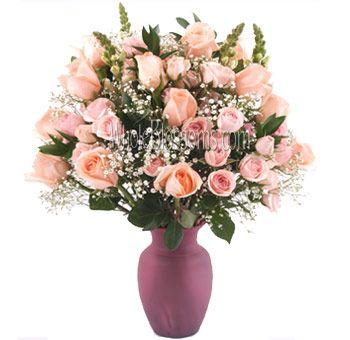 Amazing love flowers pink rose flower rose flower arrangements amazing pink rose love flowers whole blossoms mightylinksfo