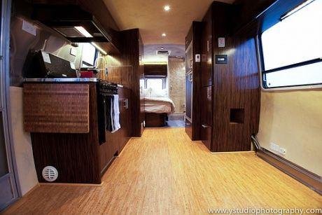 Off-the-grid airstream remodel