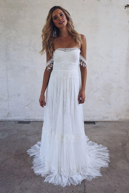 Bride Grace Loves Lace Introduces A Wedding Dress Designed By Brides Lace Beach Wedding Dress Wedding Dresses Wedding Dresses Lace