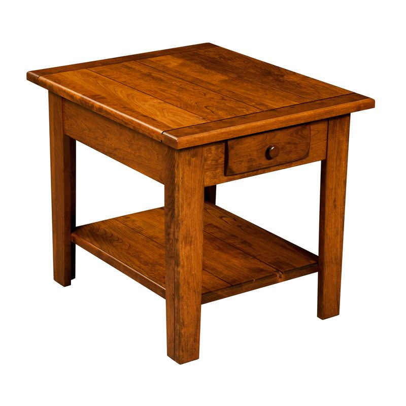 Amish Homestead End Table | Amish Furniture | Shipshewana Furniture Co.