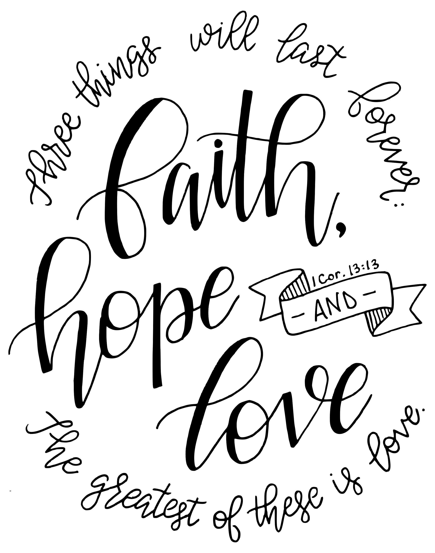 1 Corinthians 13 13 Scripture Download Bible Verse Print
