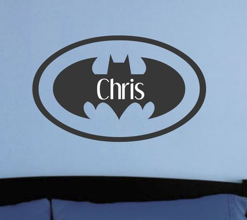 batman decals for motorcycles | Personalized Batman Wall Decal...love this! & batman decals for motorcycles | Personalized Batman Wall Decal ...