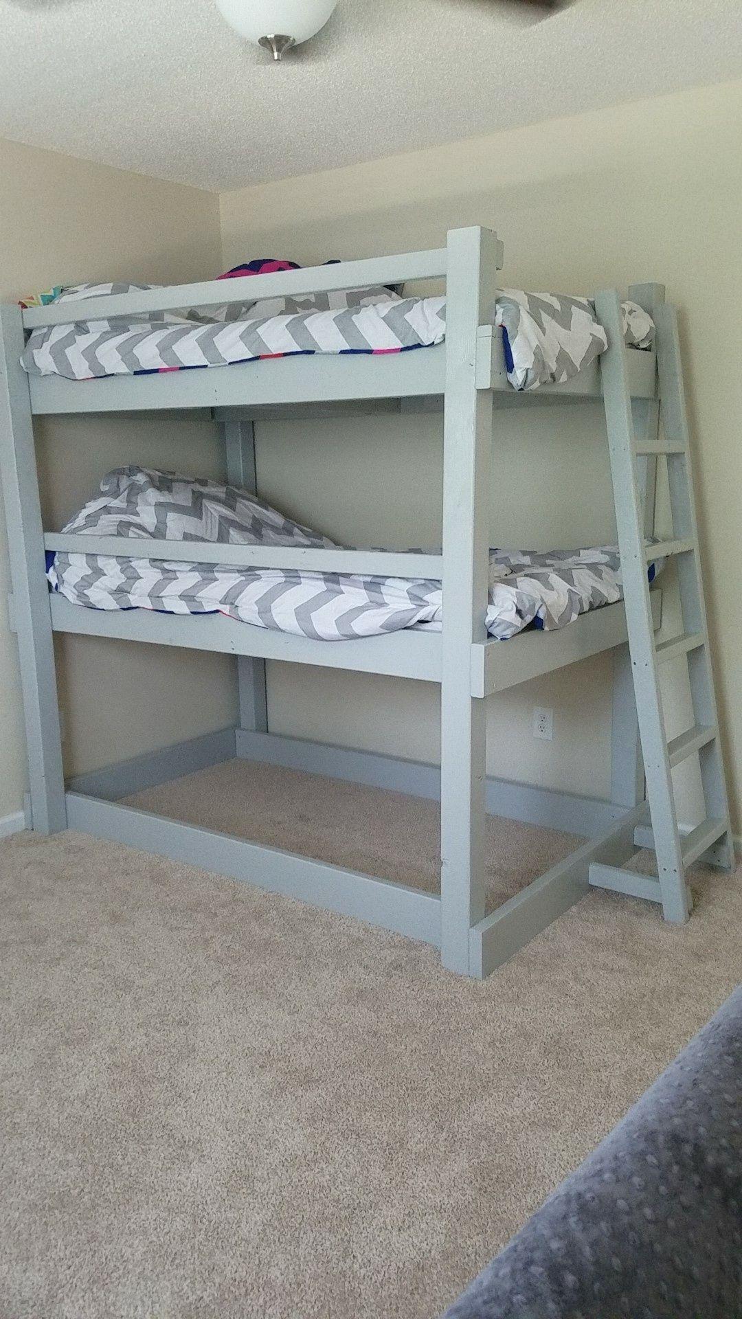 Pin De Gary Lumpkin En Bunk Bed Plans Pinterest Minis Y Dormitorio # Muebles Literas Triples