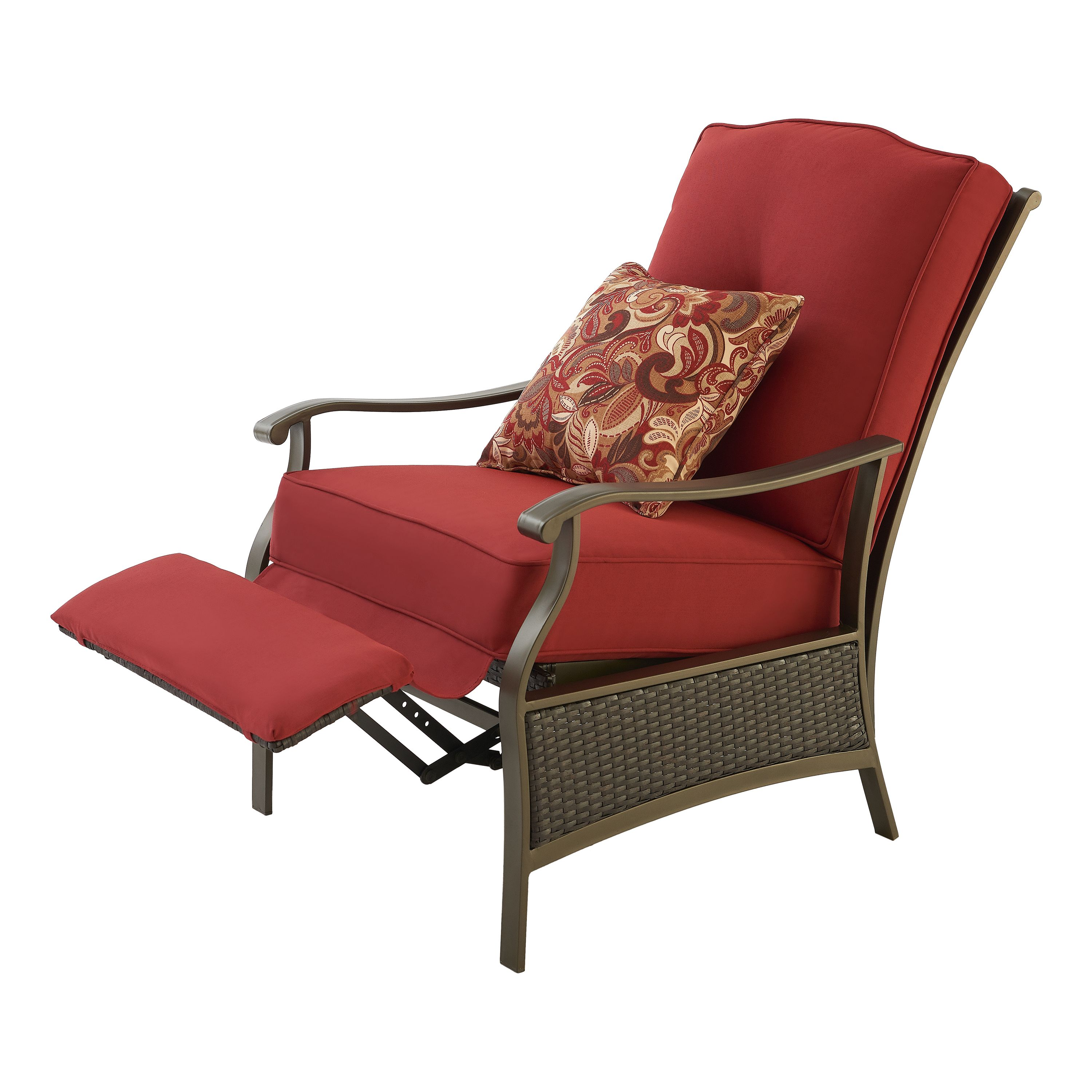 b13fc8696acd82bb90194ad0c8974a0b - Better Homes And Gardens Providence Outdoor Recliner Red