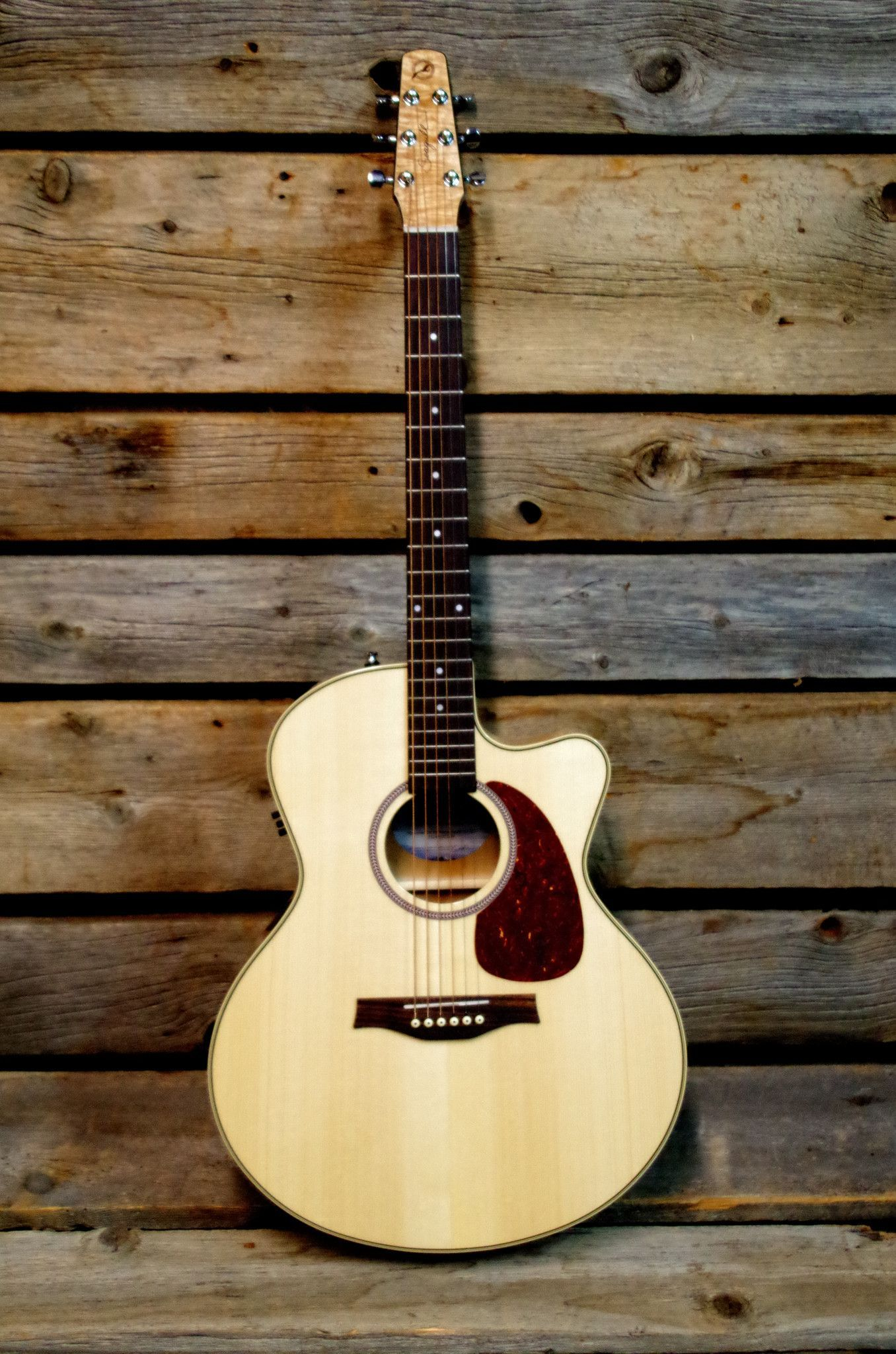 Seagull Performer Cw Mj Flame Maple Hg Qi Mini Jumbo Acoustic Electric Guitar Cool Electric Guitars Acoustic Electric Guitar Acoustic