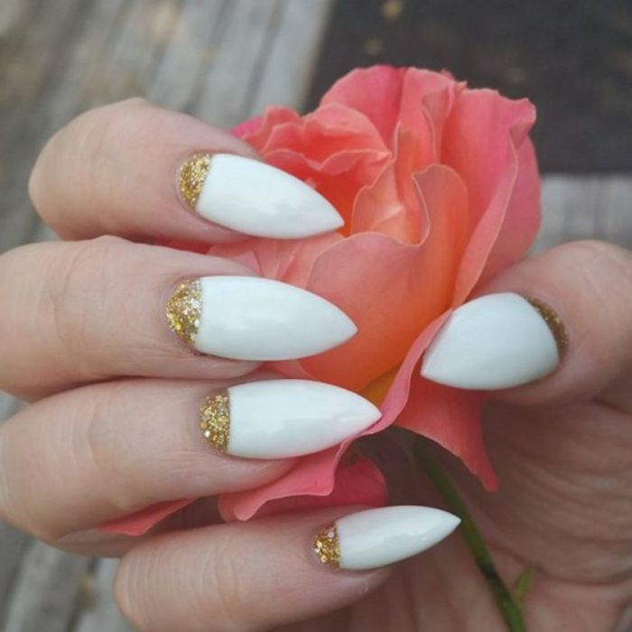 1001 Ideas For Pointy Nails Design And Inspiration Manicure