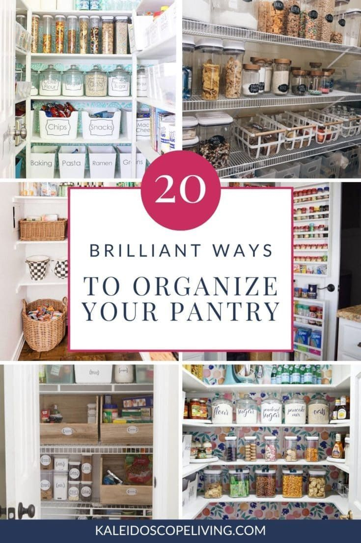 Brilliant Pantry Organization Ideas