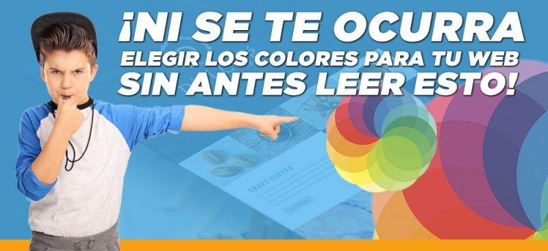 elegir los colores para tu web