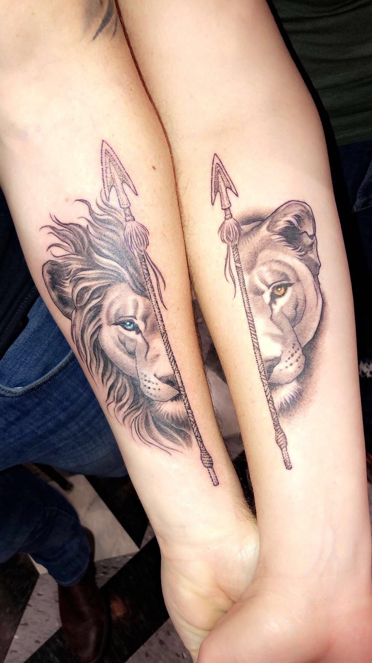 Our first his and hers tattoos by Matt Brumelow @ Ink and ...