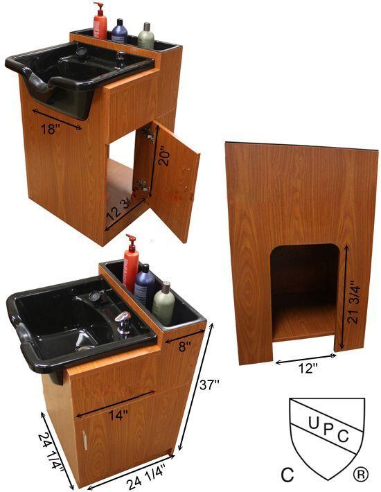 Attirant Shampoo Cabinet With Bowl
