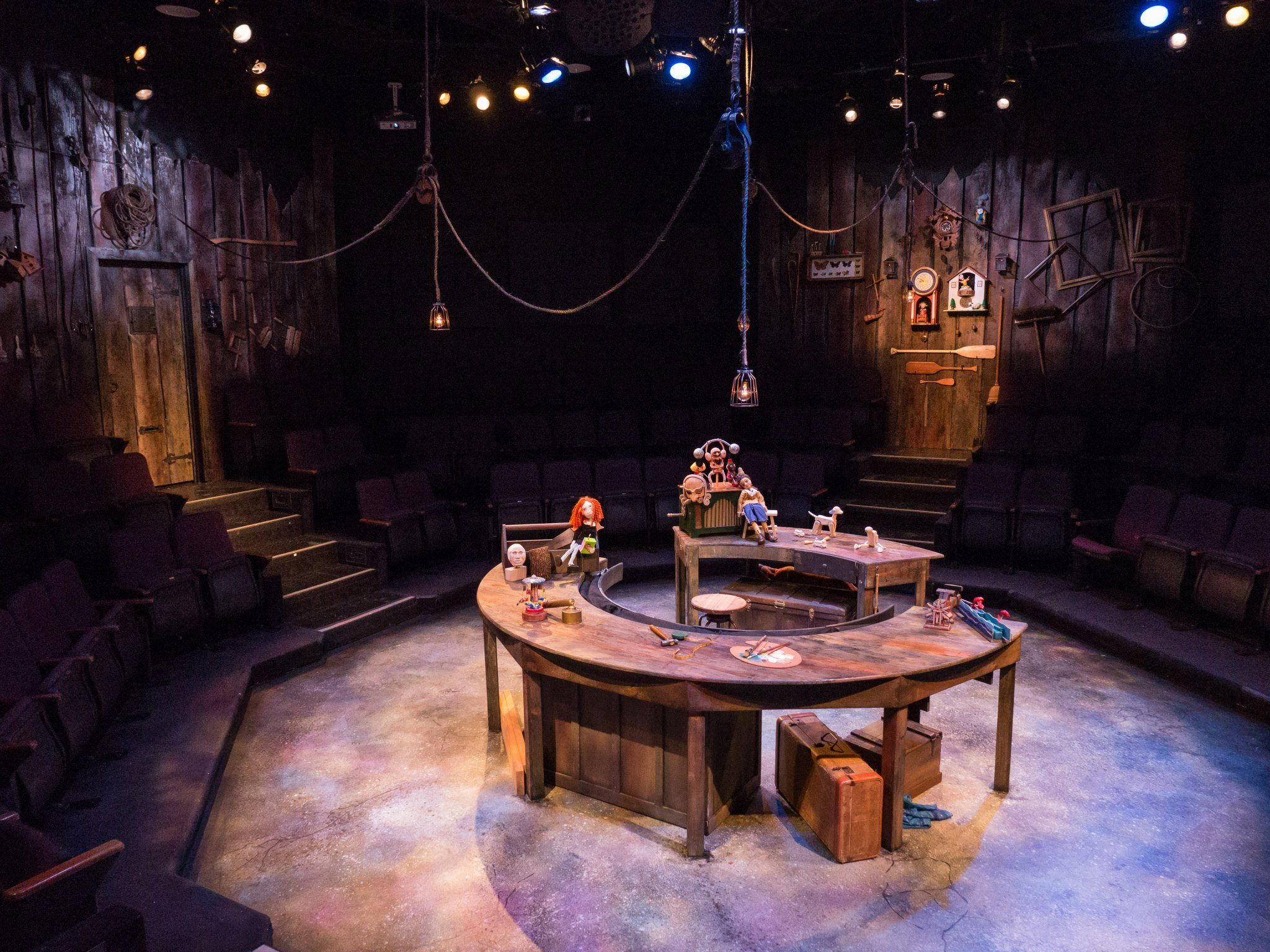 Pinocchio In The Round At Zachary Scott Theater Photo By