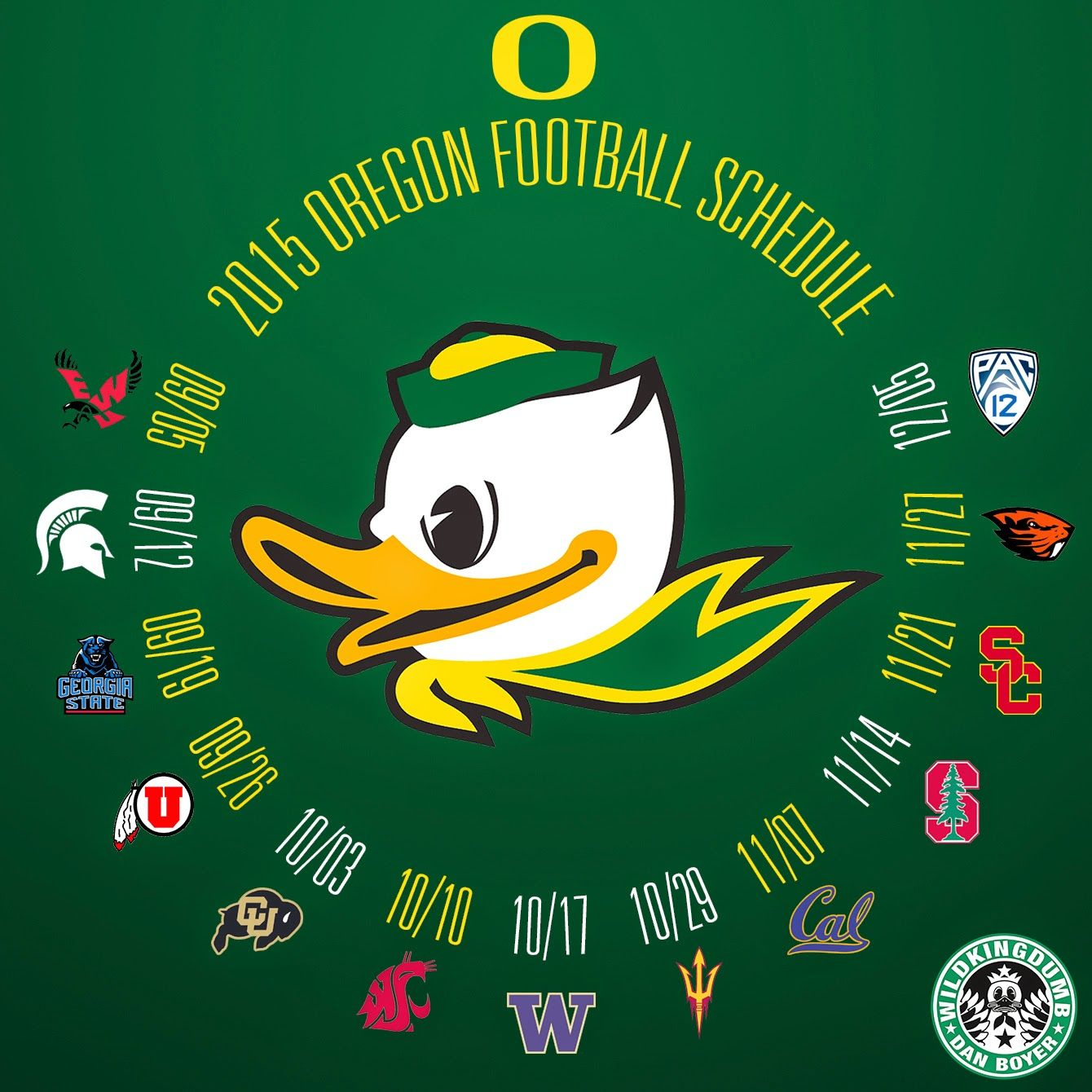oregon ducks football 2015 | the 2015 oregon ducks football schedule