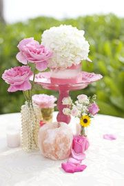 Clusters of pink and pretty