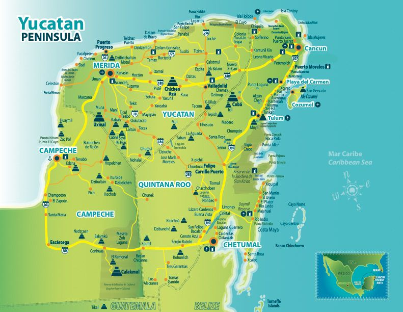 map of mayan ruins in the yucatan google search 2015 mexico