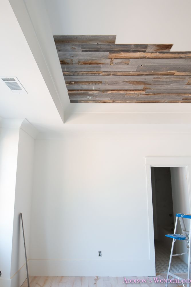Stikwood Reclaimed Weathered Wood Ceiling Bedroom 12 Of 17 Wood Ceilings Stikwood Vinyl Wood Flooring