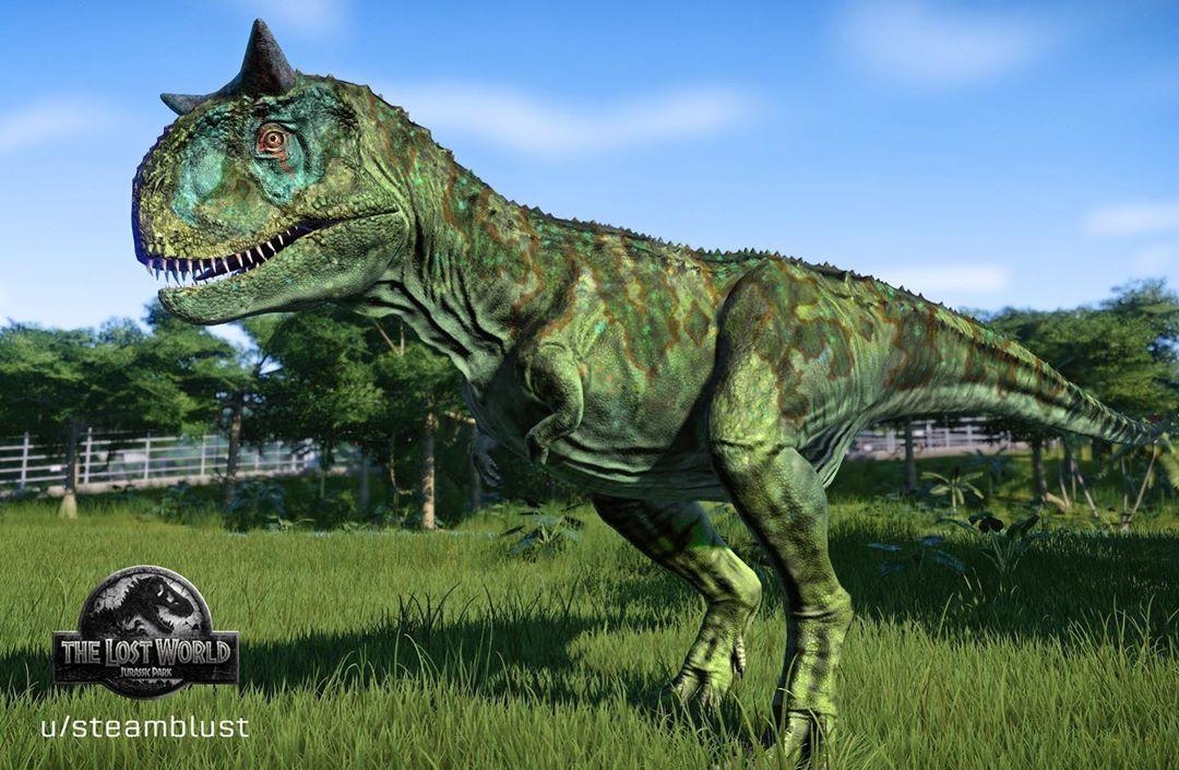 Credit To Steamblust Carnotaurus Dinosaurios Godzilla