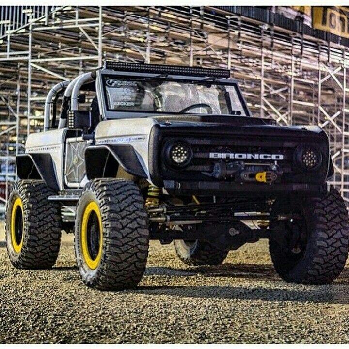 Build A Truck Ford: @rockstargarage SEMA Bronco Build