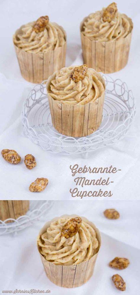 Gebrannte-Mandel-Cupcakes zur Adventsschlemmerei #frostings