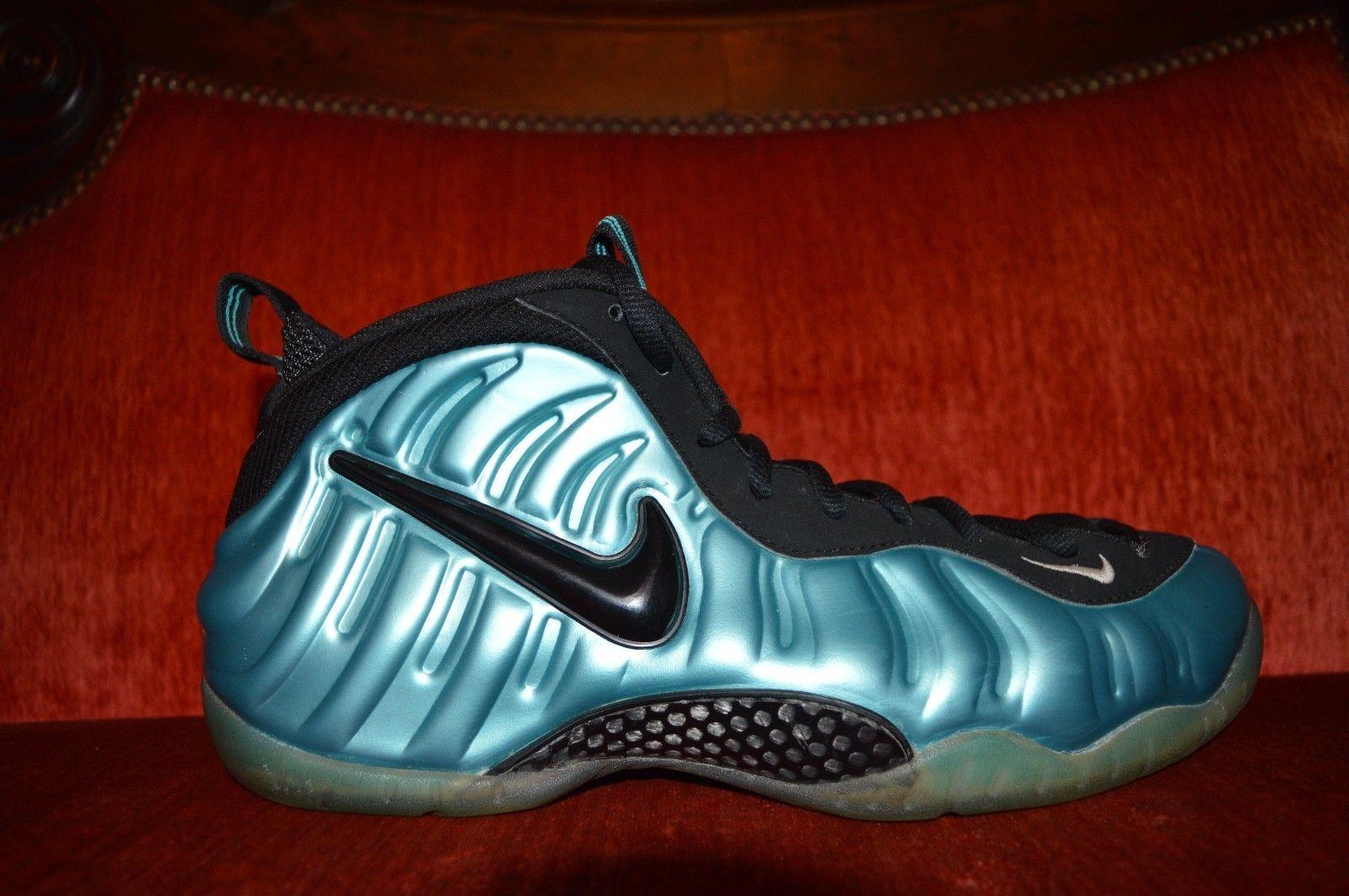 2011 Nike Air Foamposite PRO Electric Blue (624041-410) Men's Size 12