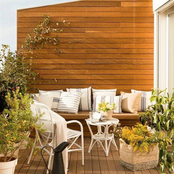 Top 10: cómo sacar partido a terrazas pequeñas | Pequeña terraza ...