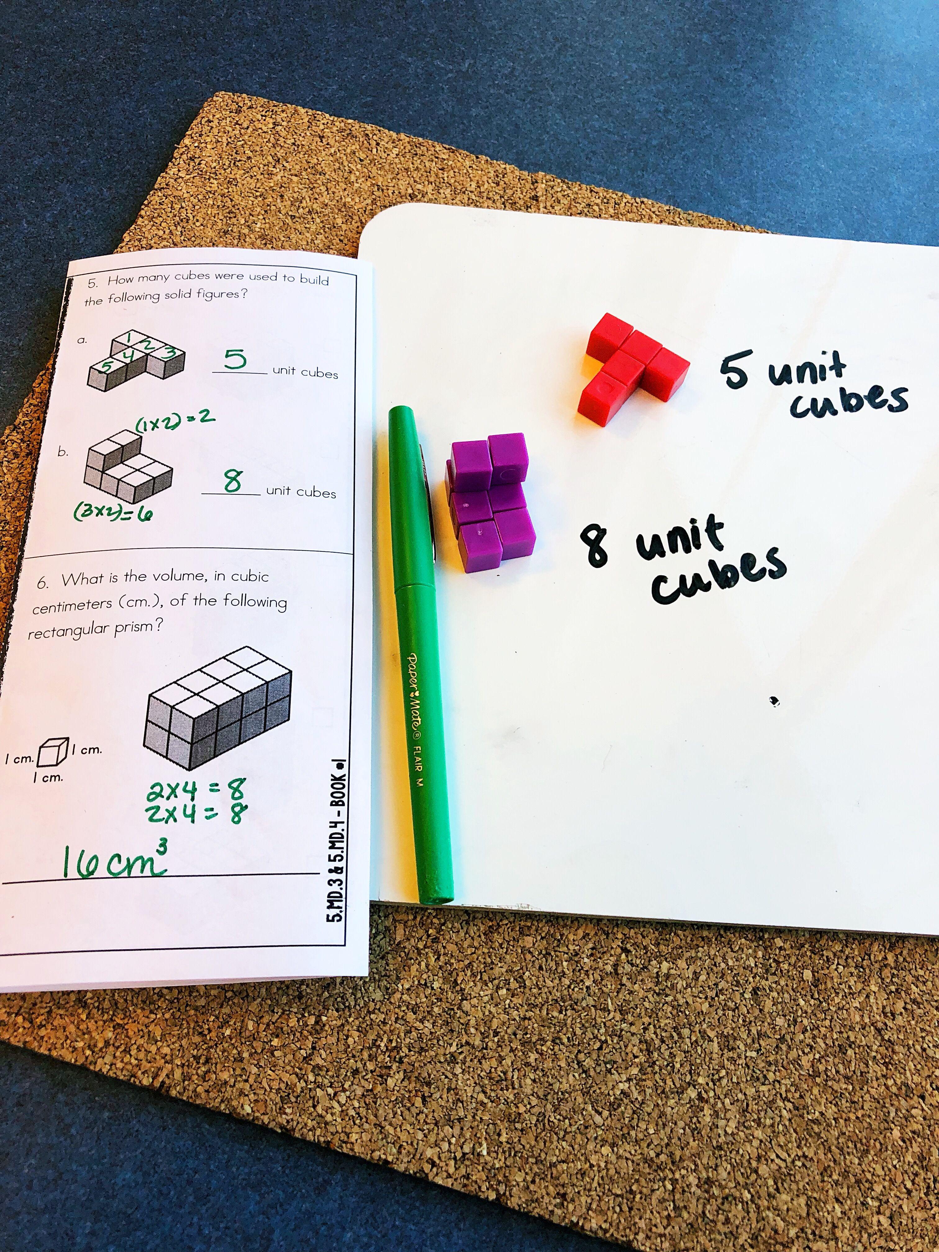 Volume 5th Grade Math Worksheets 5th Grade Math Math Worksheets Math Workshop [ 4032 x 3024 Pixel ]