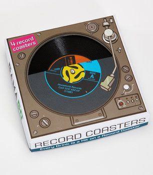 45 Record Coaster Set
