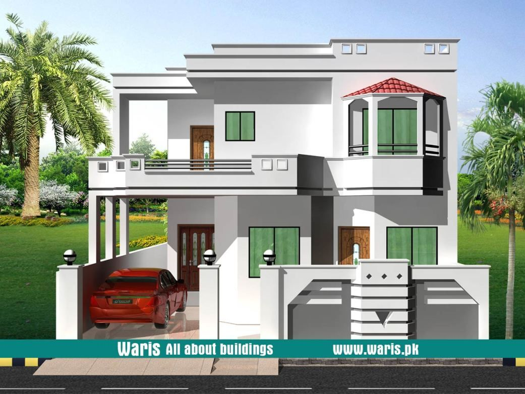 House front elevation design view interior images in pakistan marla kanal designs ideas pictures waris also best architecture building duplex rh pinterest