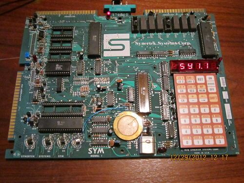 Sym-1 6502-Based Micro Computer  | First Microprocessor