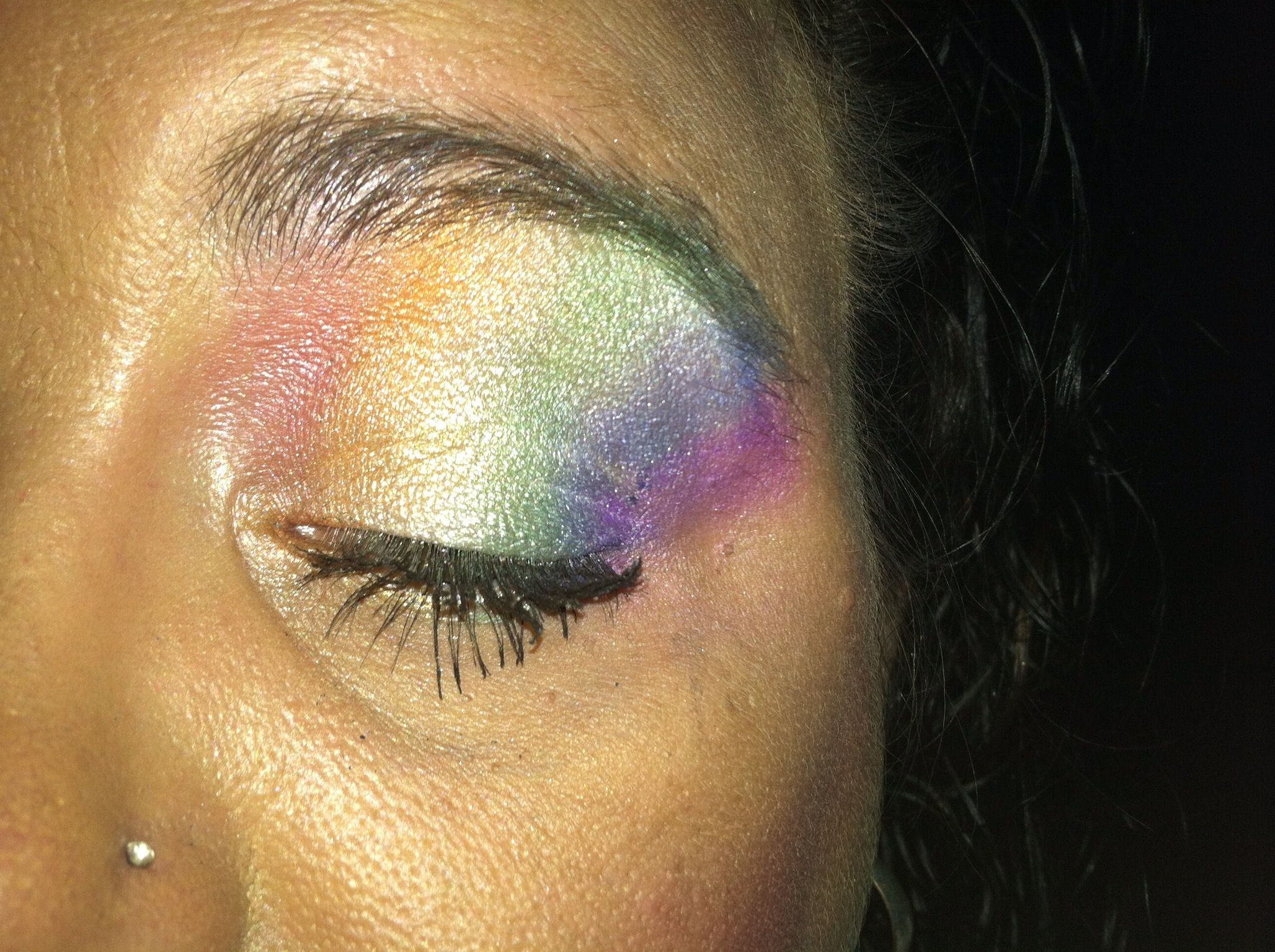 My make up for the Pride After Party
