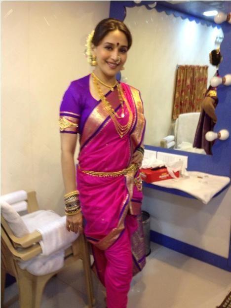 442634278dfa90 How To Style Your Saree Like A Diva | #Bollywood | Saree, Kashta ...