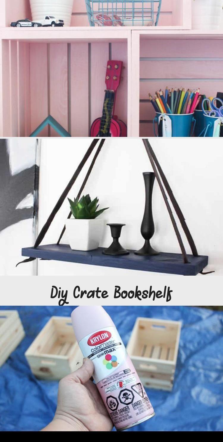 Photo of Beeindruckend! Erstaunliche Box Bücherregal Idee! Verwenden Sie Holzkisten und …