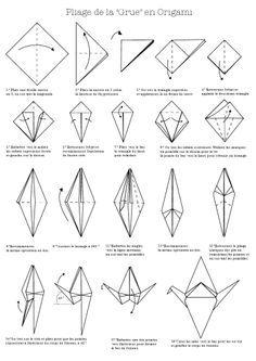 Origamie Grue Origami Pinterest Origami Grue Origami Et