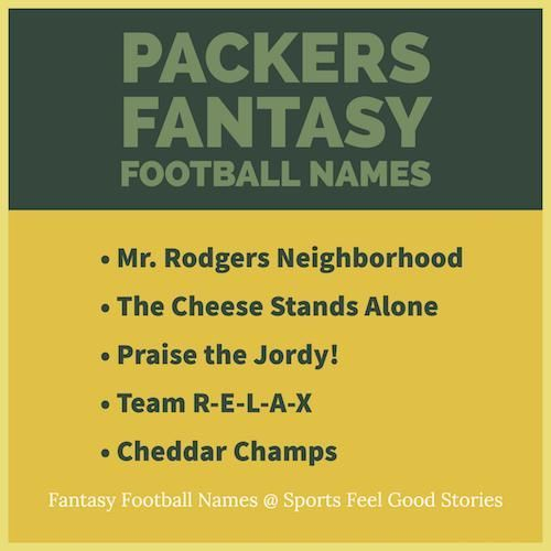 Packer Fantasy Football Names Fantasy Football Team Names