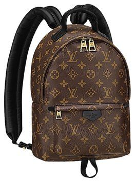 bff6f2ab3619 3 More Hours For Price Cut    Monogram Brown Leather Backpack ...