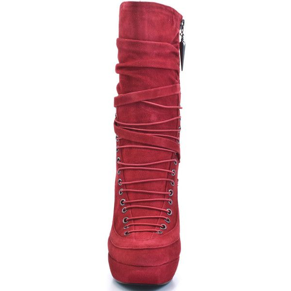afa431a9fd1 Rock and Republic Women s Landan - Red - size 6.5 (€335) ❤ liked on ...