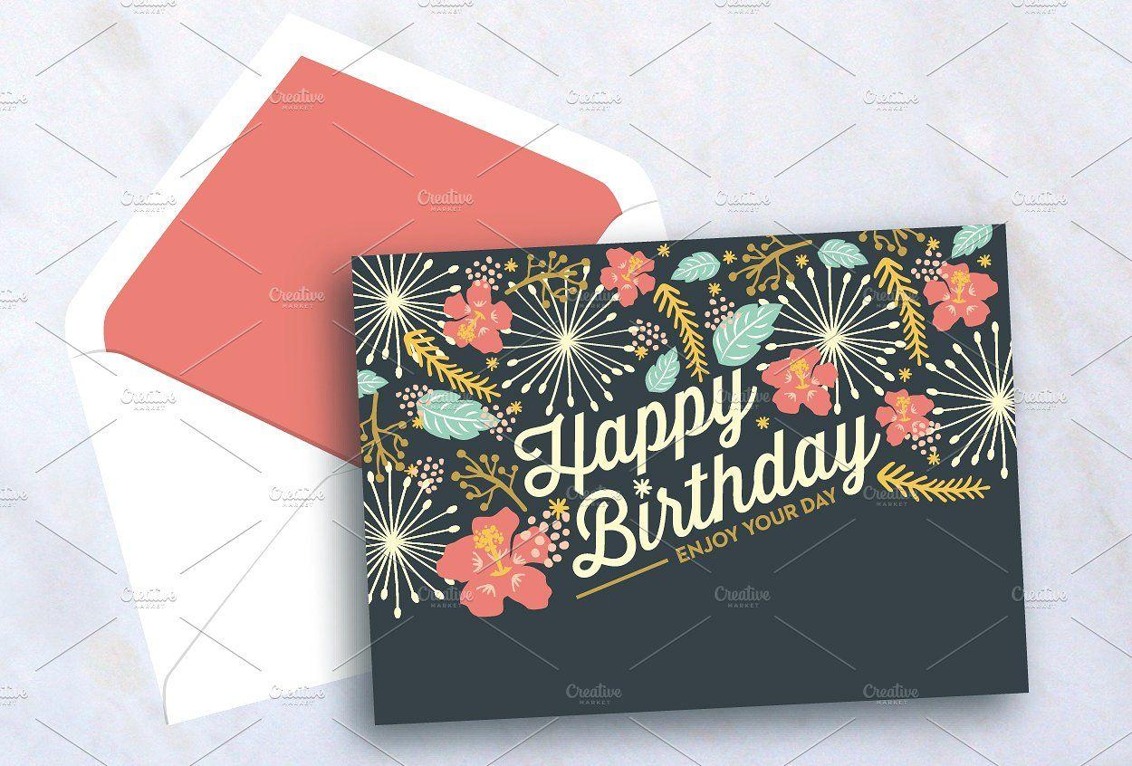 Happy Birthday Card Birthday card template free