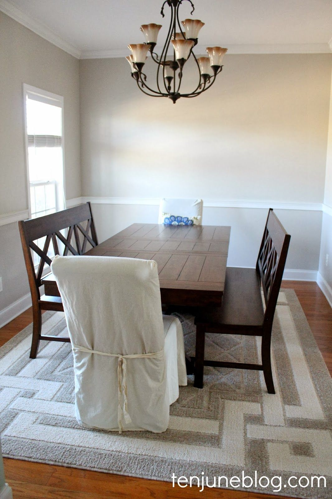 Sherwin Williams Agreeable Gray It S A Nice Cool Neutral Gray That Has A Tiny Hint Dining Room Paint Grey Dining Room Paint Agreeable Gray Sherwin Williams #wickham #gray #living #room