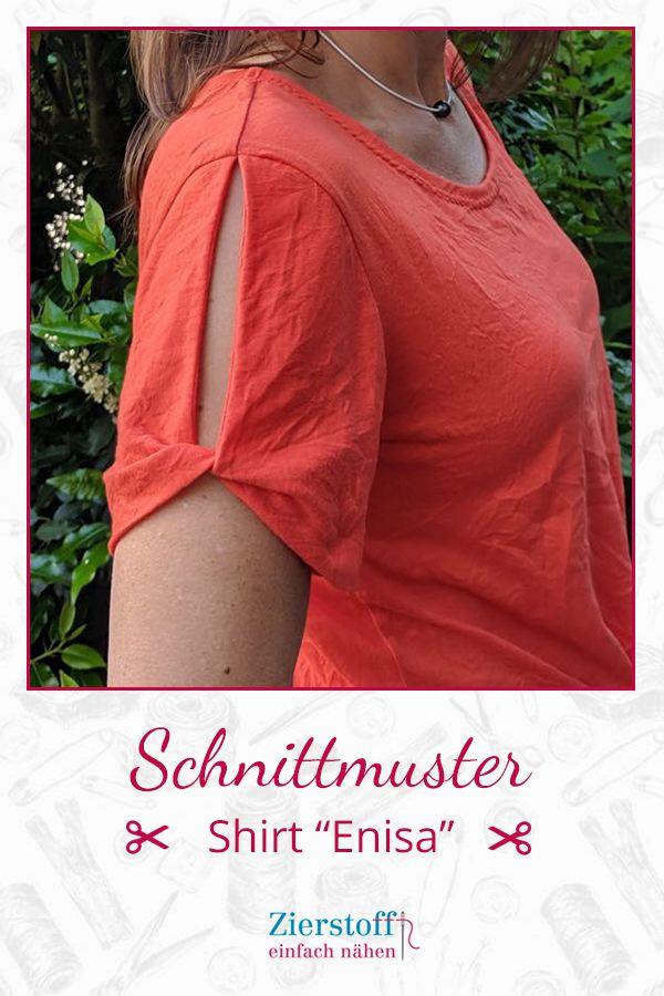 "Photo of Schnittmuster & Nähanleitung für das Shirt ""Enisa"""